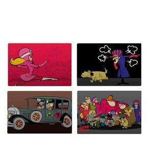 Jogo Americano Corrida Maluca Hanna Barbera - 4 Unidades