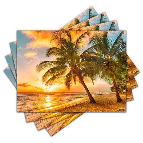 Jogo Americano - Praia com 4 Peças - 454jo