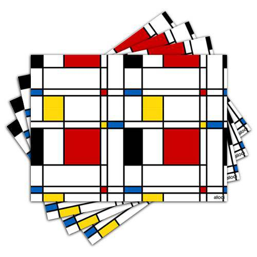 Jogo Americano - Squares com 4 Peças - 189jo