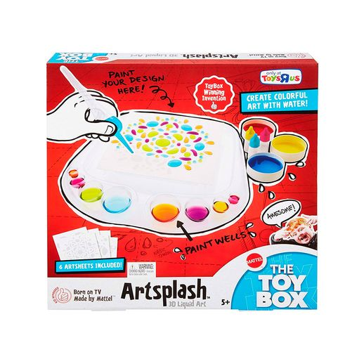 Jogo Arte Líquida Activity Artsplash 3D - Mattel Jogo Arte Líquida Activity Artsplash 3D - Mattel