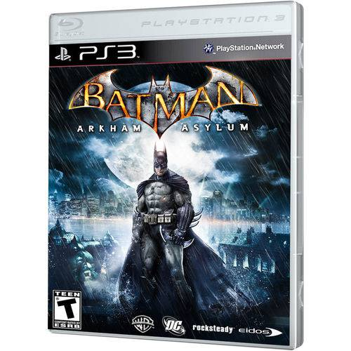 Jogo Batman Arkham Asylum Game Of Year Ps3