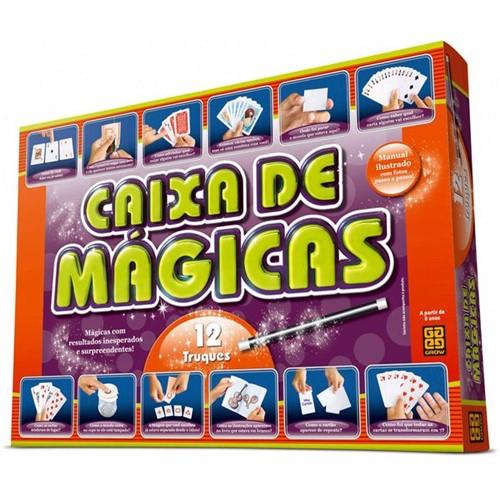 Jogo Caixa de Mágicas 12 Truques 01428 - Grow