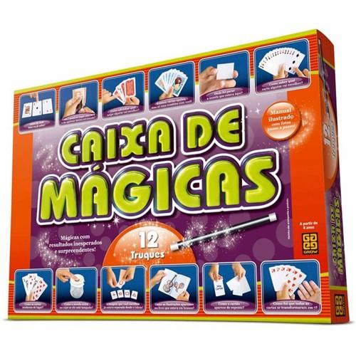 Jogo Caixa de Mágicas 12 Truques Grow LARANJA