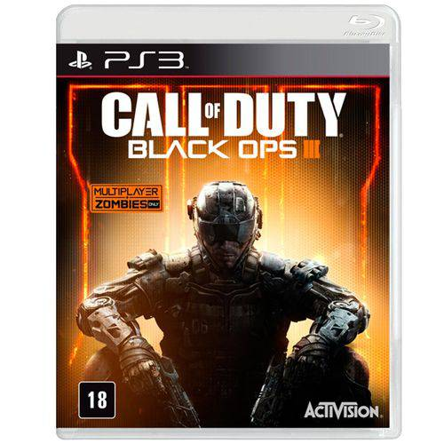 Jogo Call Of Duty: Black Ops Iii para Playstation 3 (ps3) - Activision