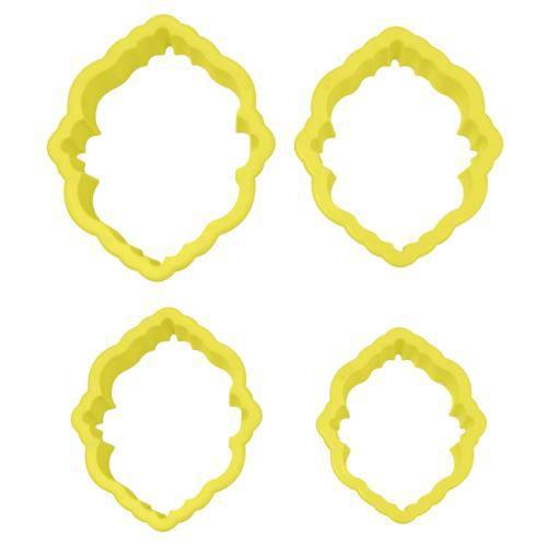 Jogo Cortadores de Moldura Código 2 com 4 Peças - Blue Star