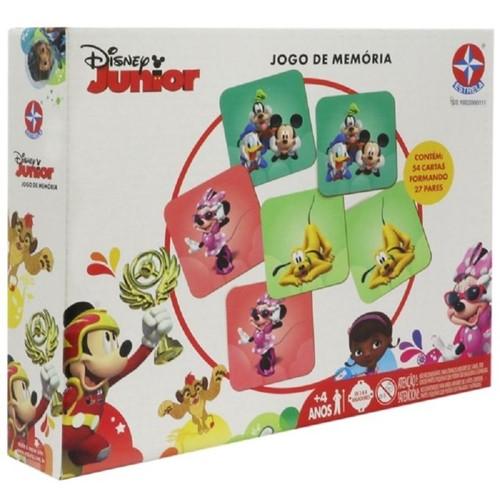 Jogo da Memória - Disney Junior - ESTRELA