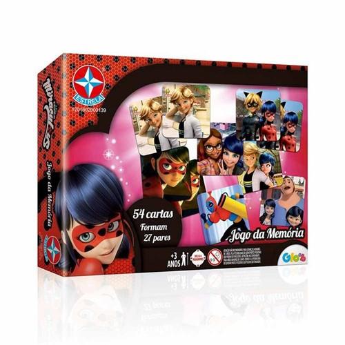Jogo da Memória Ladybug Miraculous - Estrela