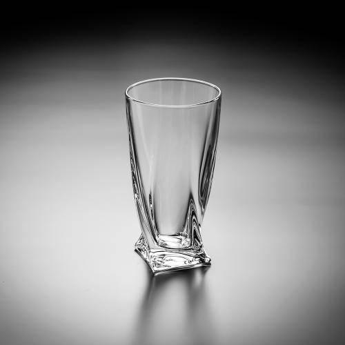 Jogo de 6 Copos Highball Quadro para Long Drinks