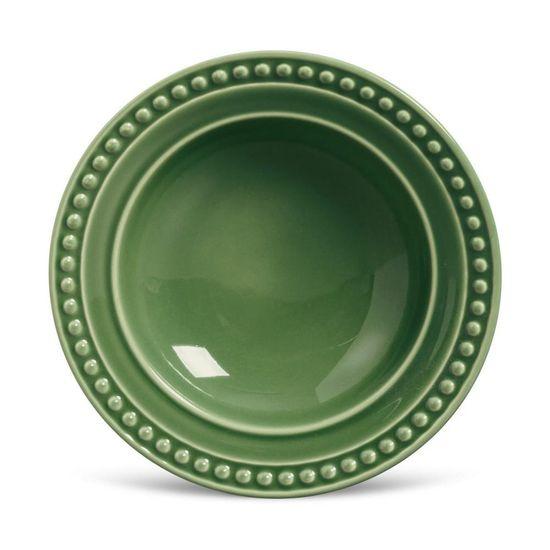 Jogo de 6 Pratos Fundo Atenas Verde