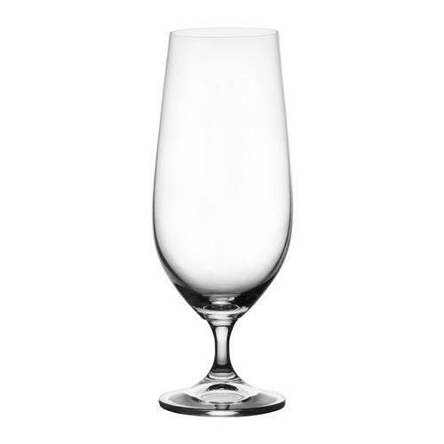 Jogo de 6 Taças Cristal Cerveja Roberta 380 Ml Bohemia