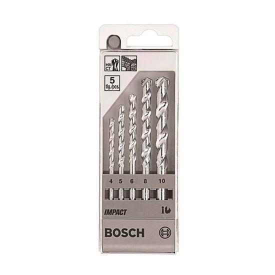 Jogo de Broca para Concreto - Bosch - 2 608 590 090 - Bosch - 5 Peças