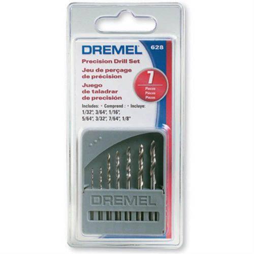 Jogo de Brocas com 7 Peças para Micro Retífica Dremel - 628 - Bosch