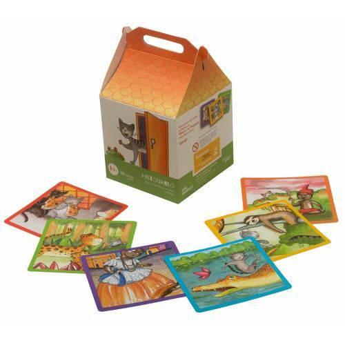 Jogo de Cartas Historiando - Araquarela