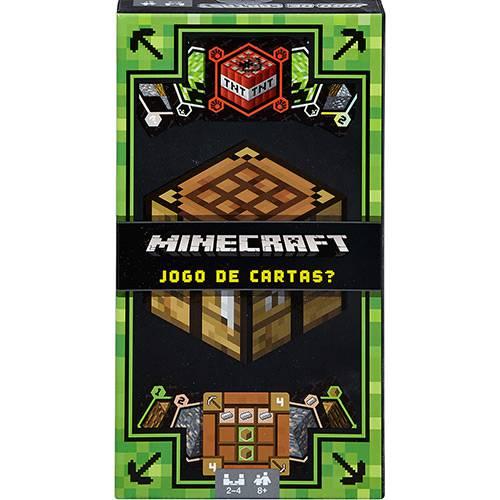Jogo de Cartas Minecraft - Mattel