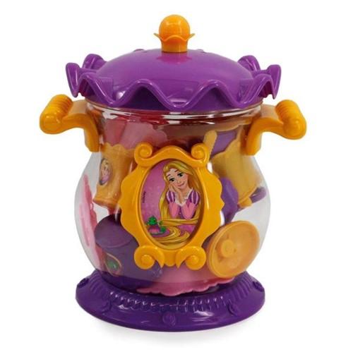 Jogo de Chá Infantil Coroa Rapunzel