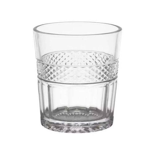 Jogo de Copos em Vidro para Whisky Mirano 6 Peças 280ml