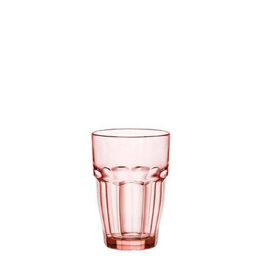 Jogo de Copos Long Drink Rock Bar 6 Pecas Vermelho