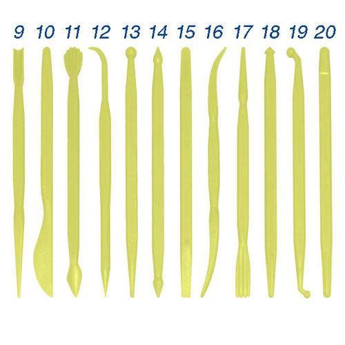Jogo de Esteca com 12 Peças