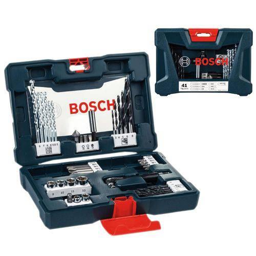Jogo de Ferramentas Bosch Kit V Line 41 Peças