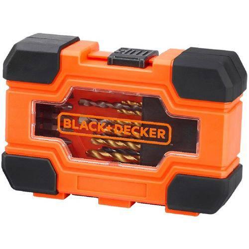 Jogo de Furar e Parafusar 27 Peças Black Decker