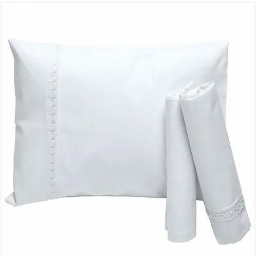 Jogo de Lençol para Carrinho Branco Kit com 3 Unidades