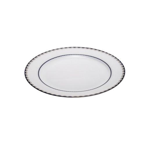 Jogo de Pratos em Porcelana de Sopa Luar 6 Peças Wolff