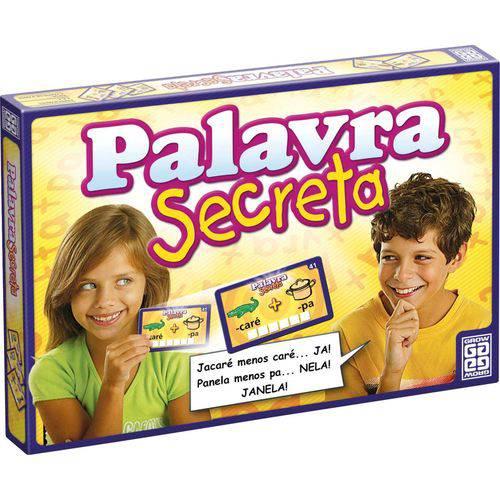 Jogo de Tabuleiro Palavra Secreta