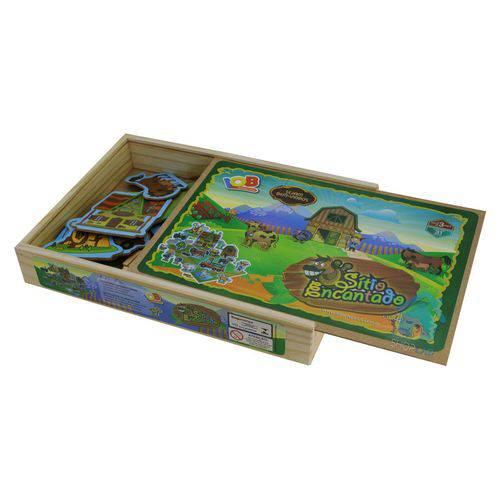 Jogo de Tabuleiro Sítio Encantado Iob Brinquedos de Madeira
