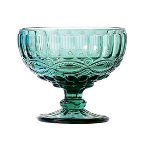 Jogo de Tacas para Sobremesa Libelula 6 Pecas Azul Tiffany