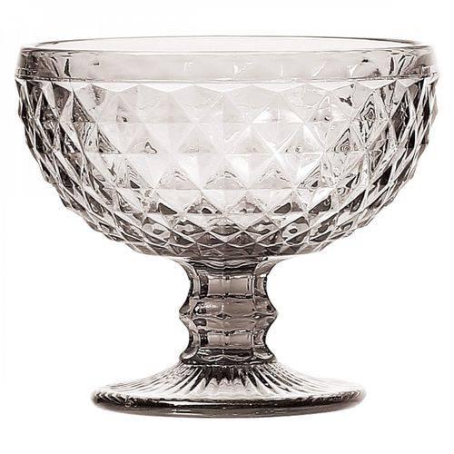 Jogo de Taças para Sobremesa Vidro Bico de Abacaxi 310ml 6 Peças Lyor Transparente