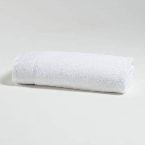 Jogo de Toalhas Le Bain Noiva Bordado Inglês Artex - 5 Peças - Branco