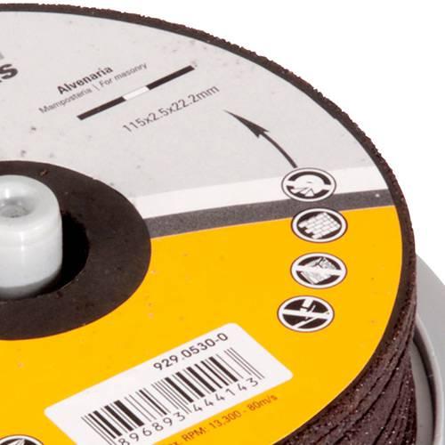 Jogo Discos Abrasivos Schulz 10 Peças 115x2,5mm