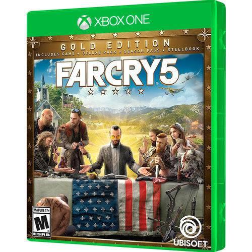 Jogo Far Cry 5 Steelbook Gold Edition Xbox One