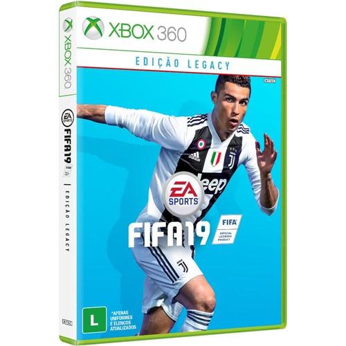 Jogo Fifa 2019 Xbox 360 - Eas