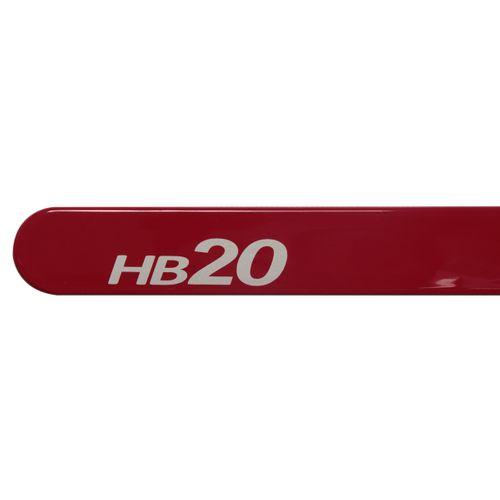 Jogo Friso Lateral Hb20 2013 a 2015 Personalizado Vermelho Tropic