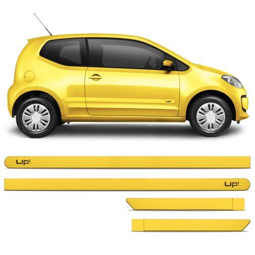 Jogo Friso Lateral Up! 2014 a 2015 Amarelo Azul Branco Cinza Prata Preto ou Vermelho Personalizado 2 Portas Amarelo Saturno