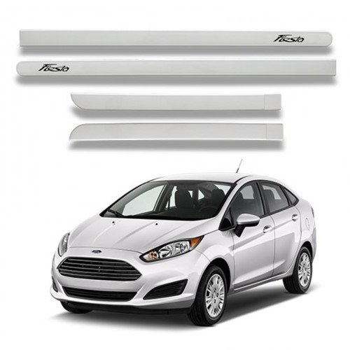 Jogo Frisos Lateral Ford New Fiesta 1834