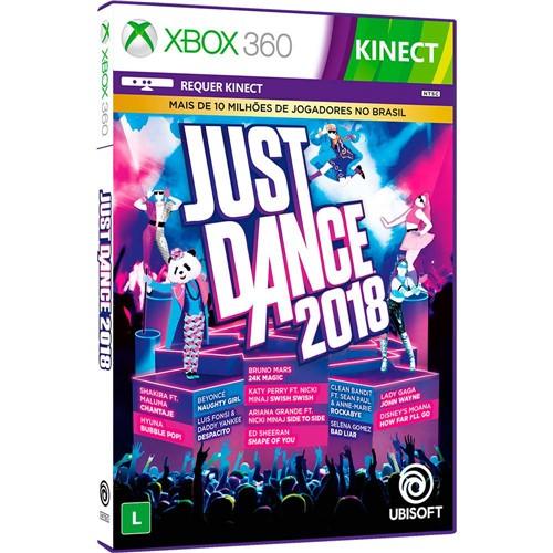 Jogo - Just Dance 2018 - Xbox 360