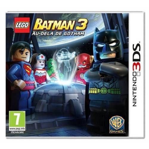 Jogo Lego Batman 3 - 3ds