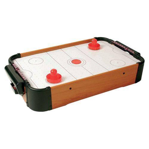 Jogo Mesa Mini Air Hockey Completo Western PB24 50x31x9cm