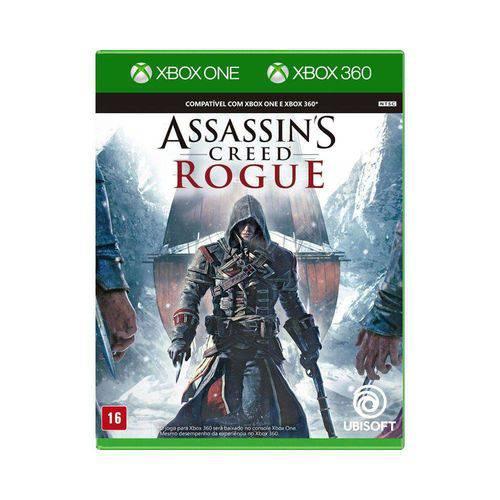 Jogo Mídia Física Assassins Creed Rogue para Xbox One