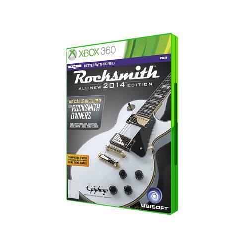 Jogo Mídia Física Rocksmith 2014 Edition para Xbox 360