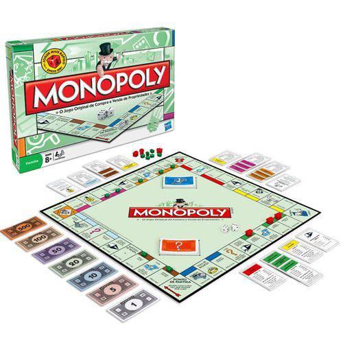 Jogo Monopoly - Edição Especial com Peças de Metal - Hasbro