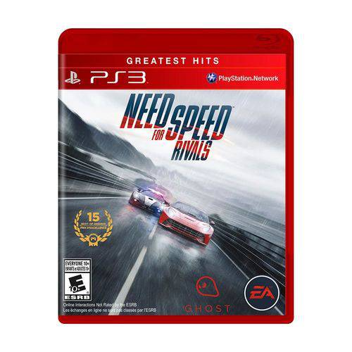 Jogo Need For Speed Rivals - PS3