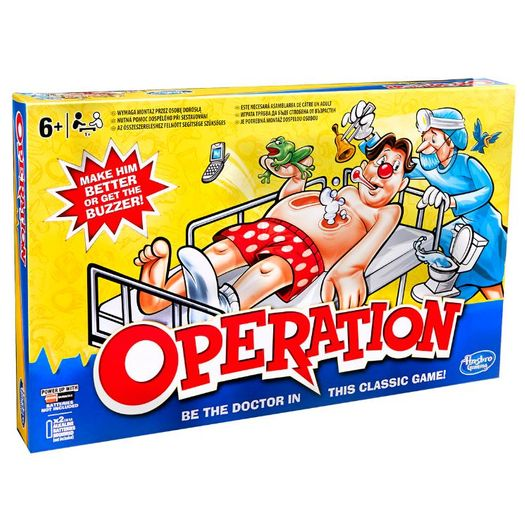 Jogo Operando Clássico B2176 Hasbro
