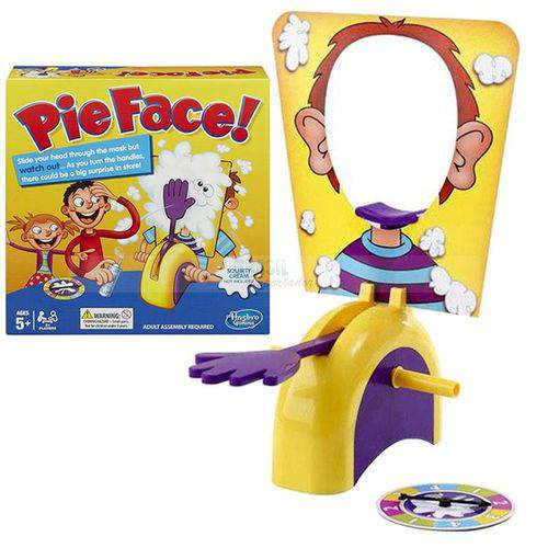 Jogo Pie Face Game Brinquedo Torta na Cara