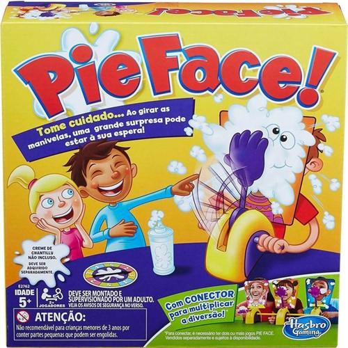 Jogo Pie Face Torta na Cara - Reação - Hasbro - HASBRO
