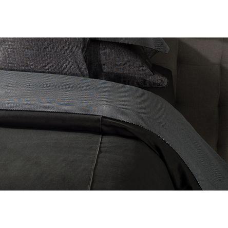 Jogo 2 Porta Travesseiros Imperia Nero 50cm X 90cm