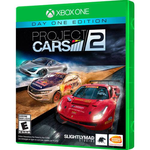 Jogo Project Cars 2 Day One Edition Xbox One