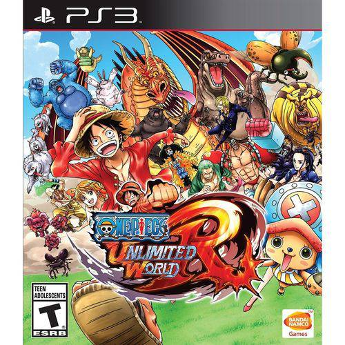 Jogo PS3 One Piece: Unlimited Red